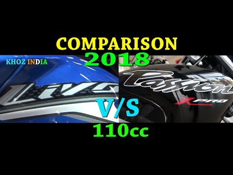 2018 HONDA LIVO VS HERO PASSION XPRO DETAIL COMPARISON