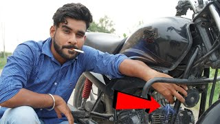 Light Cigarette without Matchstick from Bike spark plug