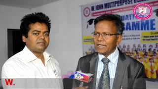 Dr  Masih Prakash Ekka (founder) W. John Multipurpose Boarding School
