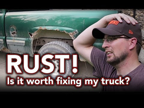 Chevy Silverado rust problem - A closer look at my rusty truck