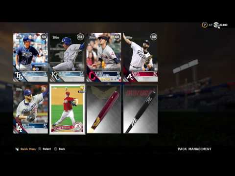 MLB The Show 16 DD Pack Opening! (Flashback Pull!)