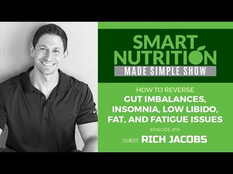 How to Overcome Gut, Insomnia, Low Libido, Fat, and Fatigue Issues with Rich Jacobs