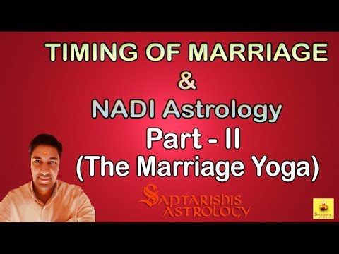 Learn NADI Astrology | Fundamentals of NADI & Timing of Marriage | Part - 2