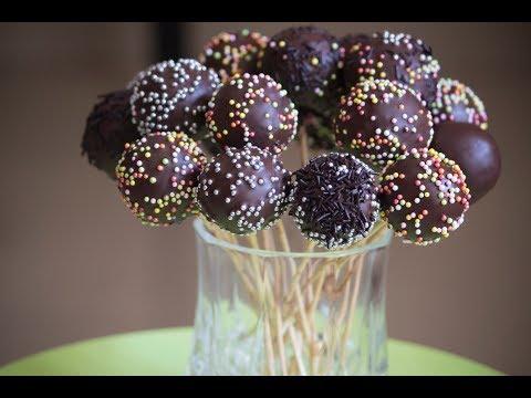 Easy To Make Chocolate Cake Pops Recipe | Desi Zaiqa