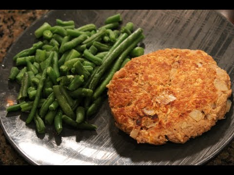 Cheap Bodybuilding Meal:  10 Minute Low-Carb Tuna Patty