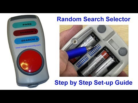 Random Search Selector Step by Step Set-up Guide