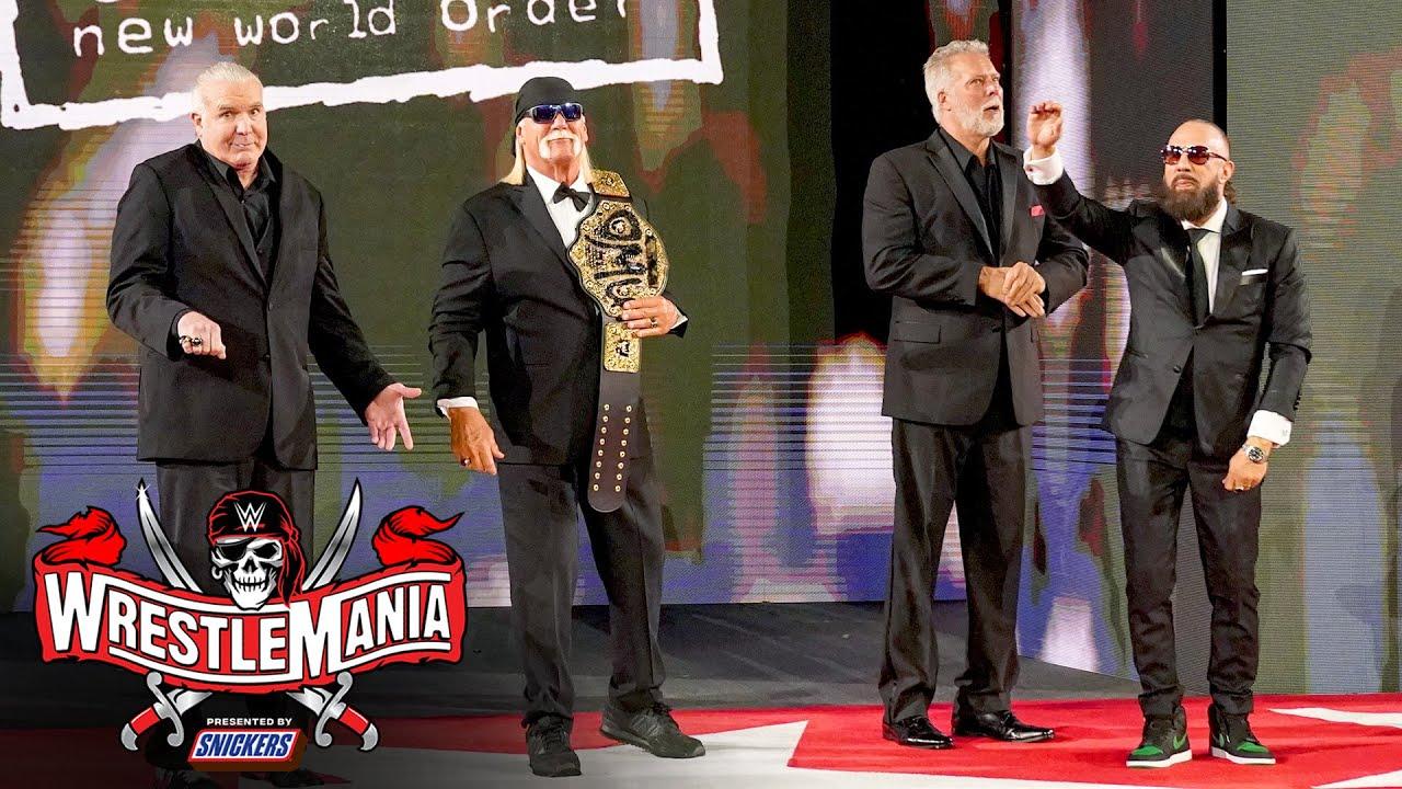 Class of 2020 gets WrestleMania ovation: WrestleMania 37 – Night 1 (WWE Network Exclusive)