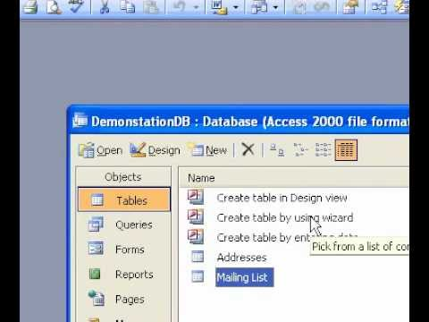 Microsoft Office Access 2003 Change a columns width in the design grid