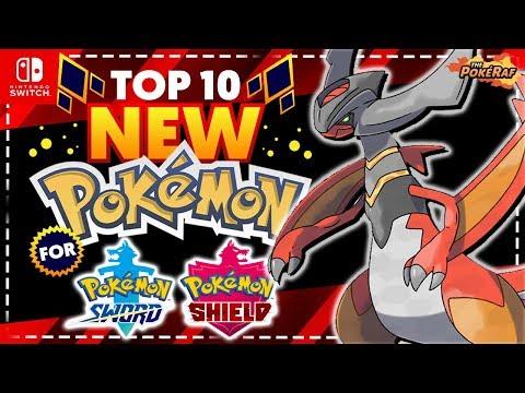 Top 10 New Pokémon For Generation 8! (Pokémon Switch)