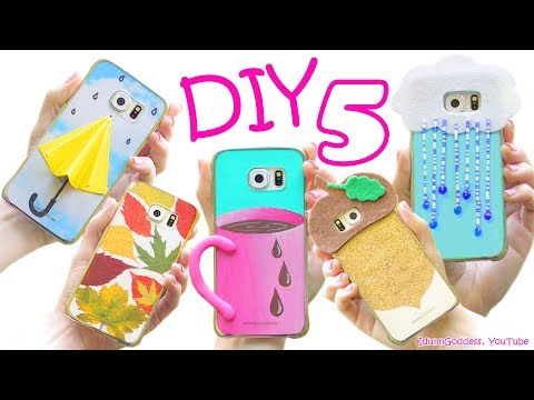 5 DIY Fall Phone Cases - How To Make Cute Phone Cases For Autumn