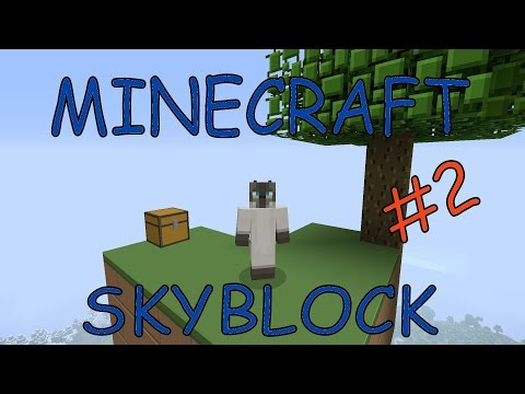 SKYBLOCK Minecraft ps4 (let's play) #2 the wheat seed!