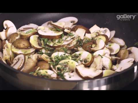 Mushroom Pesto Pasta from Peter Sidwell #LoveYourKitchen