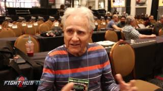 """Larry Merchant feels UFC found a way to """"market street fights"""""""