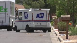 Ride along with a mailman in USPS truck with no AC in 100 degree heat