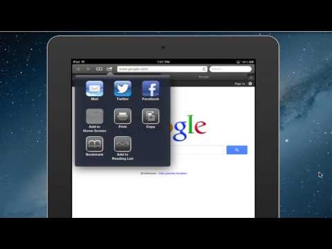 How to Create Bookmarks on an iPad Desktop : iPad Tips & Features