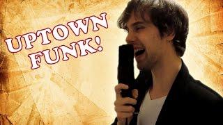 Mark Ronson ft. Bruno Mars - Uptown Funk (Funk-Rock Cover)