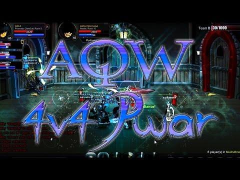 AQW PWAR 4v4: The Power of Prismatic Clawsuit!