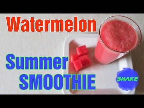 RECIPE: WEIGHT LOSS WATERMELON SMOOTHIE (Recept: Zdravé melónové smoothie )