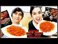 Download KOREAN SPICY FIRE NOODLE CHALLENGE FT. MY BROTHER MP3,3GP,MP4