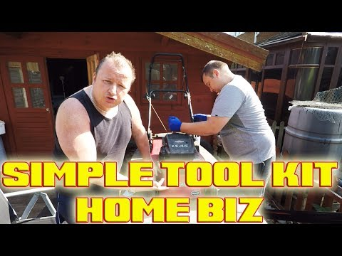Quick Fix Fast Profit With A Basic Tool Kit | Lawnmower Repairs