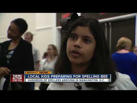 Local kids preparing for spelling bee