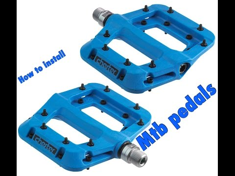 How to: Install Race Face pedals