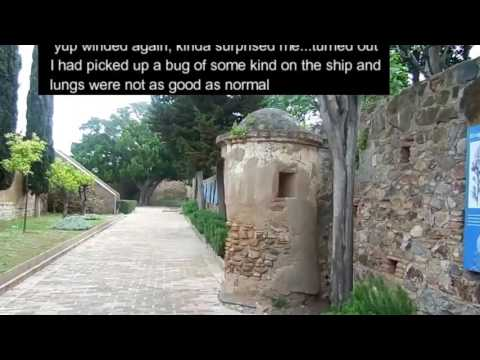 Malaga cruise port and walk around the old part of the City