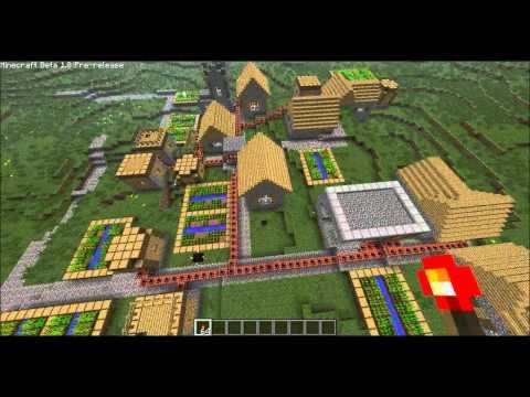 Minecraft: 1.8, Village Vs. TNT