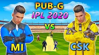 IPL 2020 in PUBG | MI vs CSK Indian Pubg League MI (Mylta Indians) CSK (Castle Super King) Follow me on Instagram ...