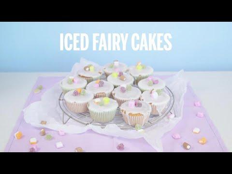 Iced Fairy Cakes | Recipe | GoodtoKnow