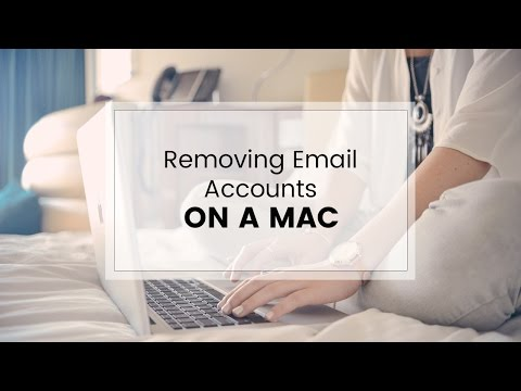 Removing an email account from  Mac Mail