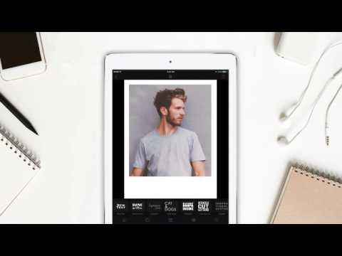 Create polaroid in 60 Seconds - Cameraxis iPhone/iPad free app