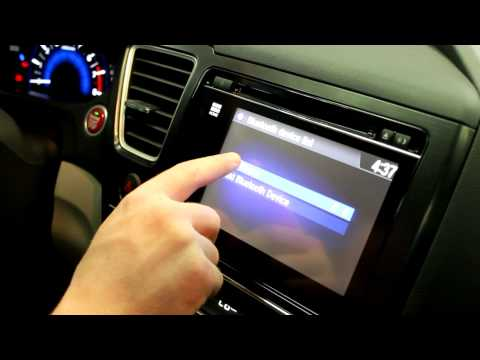 How to UnPair a Bluetooth Device from a 2015 Honda Civic