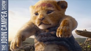 Lion King 2nd Most Viewer Trailer Launch In History - The John Campea Show