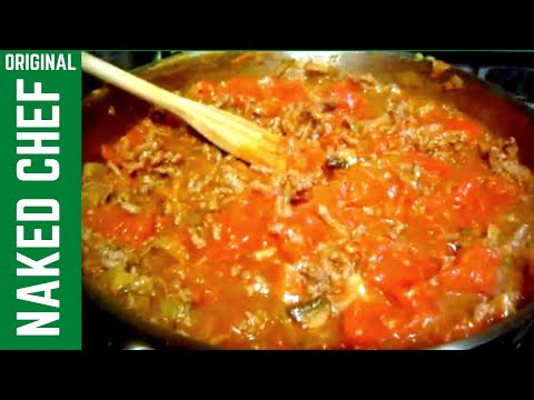 Spaghetti Bolognese How to Make recipe -  Italian  Food Bolognaise