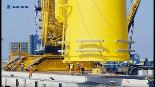 Corporate video | Sarens Two of the world's biggest crawler cranes working in tandem