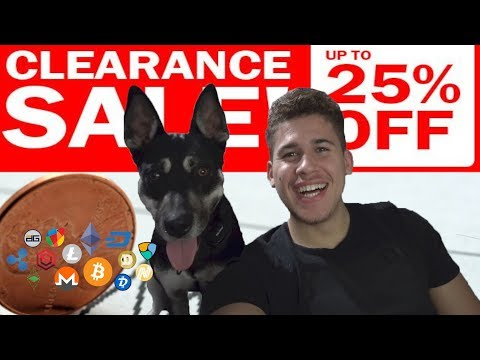 THE BEST TIME TO BUY ALT COINS ON CLEARANCE