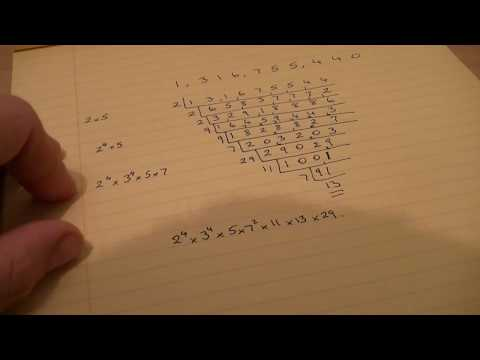 Prime Factors of A Random Large Number