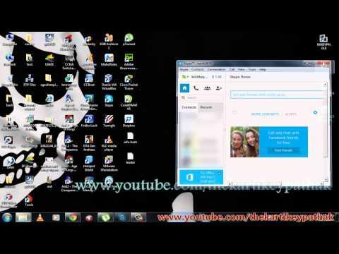Remove Skype Icon From Windows 7 Taskbar