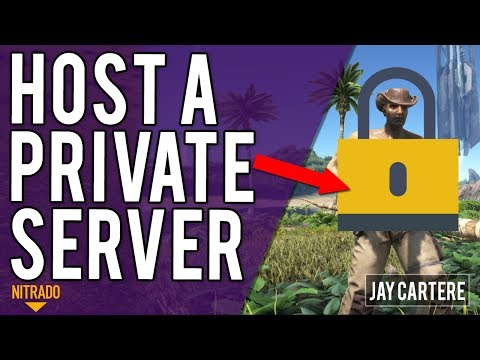 How To Host A Private ARK Server On PS4 Using Nitrado - ARK Survival Evolved PS4 Tutorial