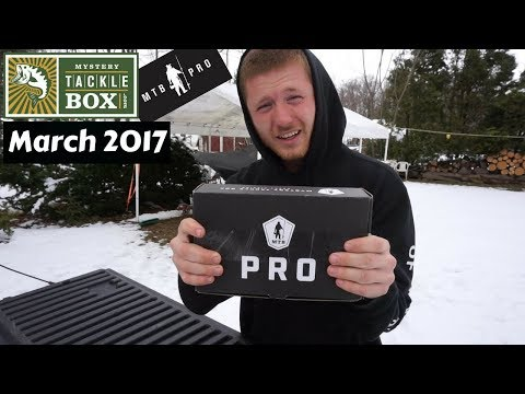 Mystery Tackle Box PRO ~ March 2018 Unboxing