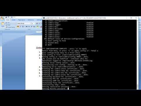 Zimbra Install in Ubuntu 14.04 VPS