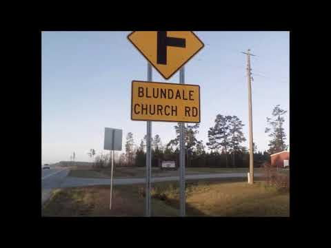 Ghost town of Blundale Ga.