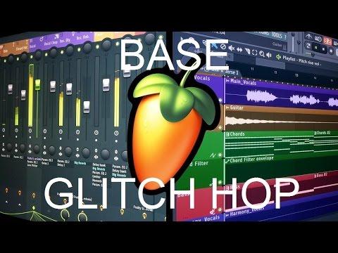 FL Studio Tutorial: Base Glitch Hop (Electronica con toque funky) [FREE FLP]