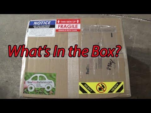 NewPriusBatteries - Prius Hybrid Battery Unboxing