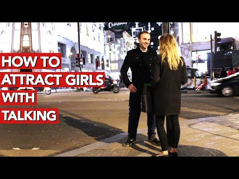 How to attract girls with talking? Infield video