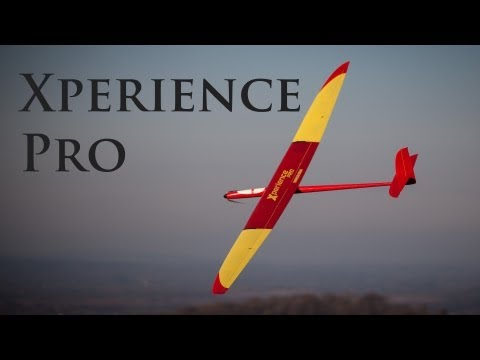 Nan Electric Xperience Pro F5J Winter Thermalling on Minchinhampton Common, UK