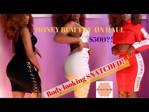 $500 HONEY BUM CLOTHING HAUL - BODY LOOKING SNATCHED ! || Slim Thick Try-On Haul