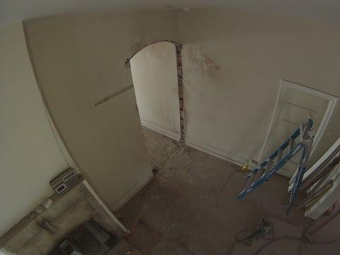 Hallway Arch Install