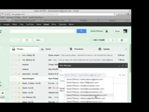 Send as Business Email Address From Gmail